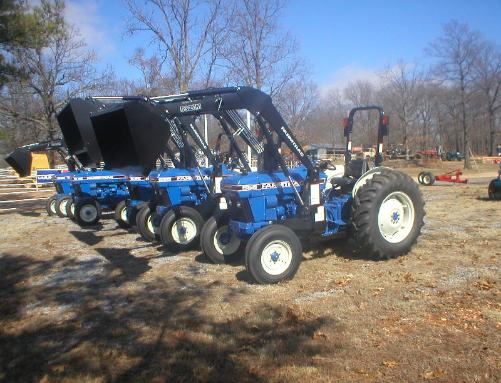 FarmTrac 555 with loader with Specifications